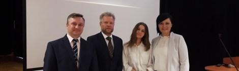 """Wiktoria Sykulska w finale ogólnopolskim konkursu """"Poznaj swoje prawa w pracy""""!!!!"""
