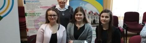 Gratulacje dla drużyny ZSP za zajęcie II miejsca w III Powiatowym Konkursie Wiedzy o Rynku Pracy!