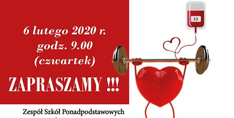 Akcja zbiórki krwi-6.02.2020