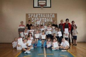 SPARTAKIADA 2013 Z AGATĄ KL. I i przedszkolaki 179