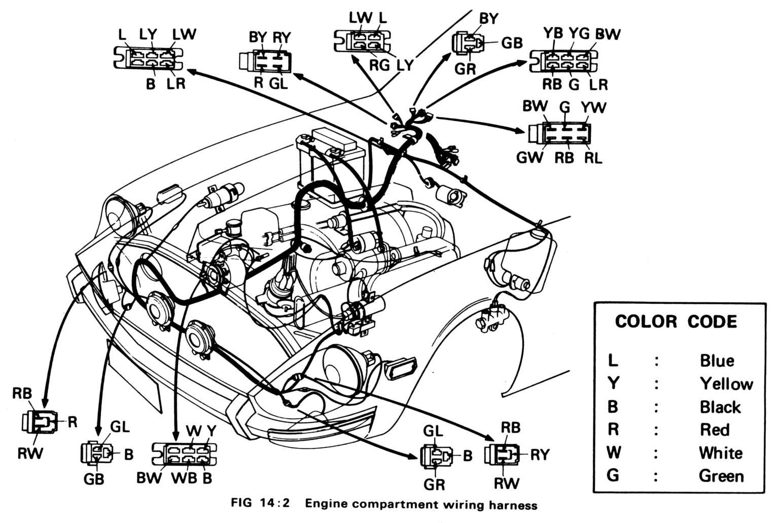 Z Specialties Parts Diagrams 1970-78 240Z, 260Z & 280Z