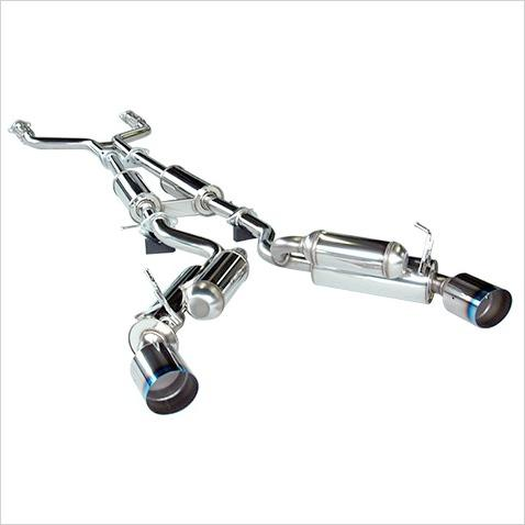 HKS Hi-Power Cat Back Exhaust System Infiniti G37 Coupe