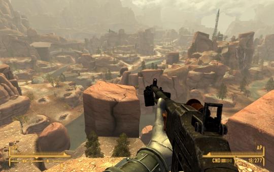 Fallout New Vegas Zion Map
