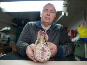 My local shoemaker.