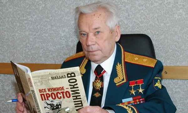 М.Т.Калашников-наша живая легенда