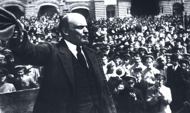 В.И.Ленин в 1917 году.