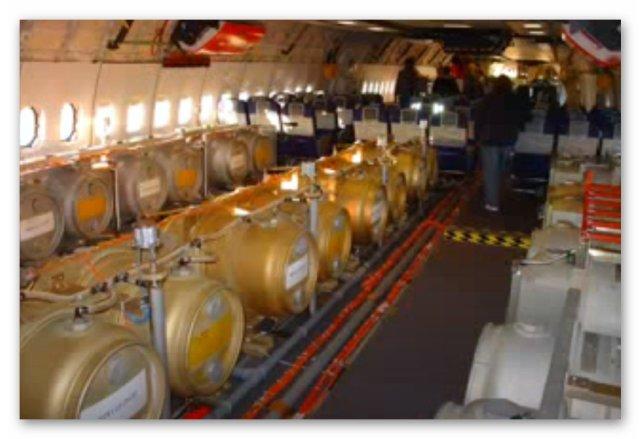 Баллоны с химическими элементами на коммерческих рейсах | Блог З.С.В. Свобода слова