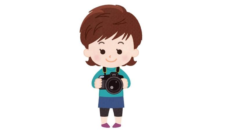 個人事業主のカメラマン女性