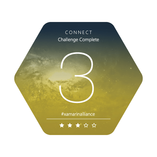 Xamarin Alliance Badge Challenge 3