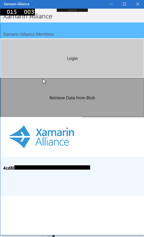 Xamarin Challenge 5 Final Result