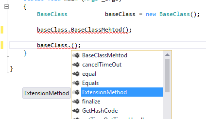 D365 Class Extension IntelliSense