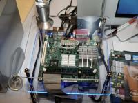 Demonstração do D210GLY Mini-ITX