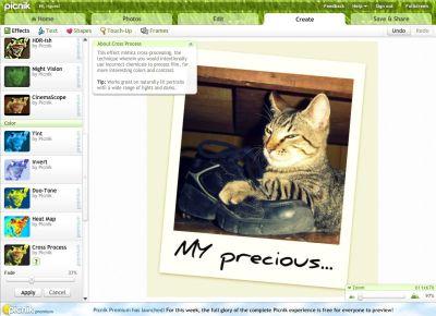 Picnik, o editor de fotos da Web 2.0