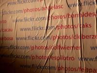 Parede de Flickr