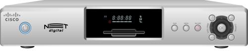 DVR + set-top digital novo da Net