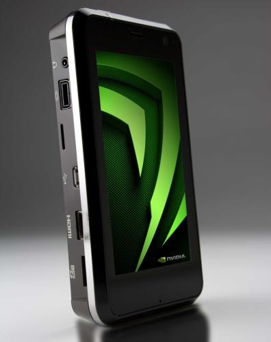 Protótipo de celular com NVIDIA APX 2500