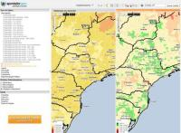 Apontador GEO: dados estatísticos no mapa