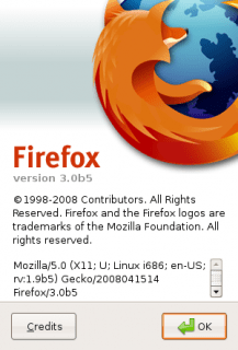 Firefox 3.0 Beta 5