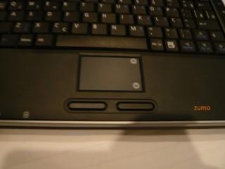 Positivo Mobo: detalhe do touchpad
