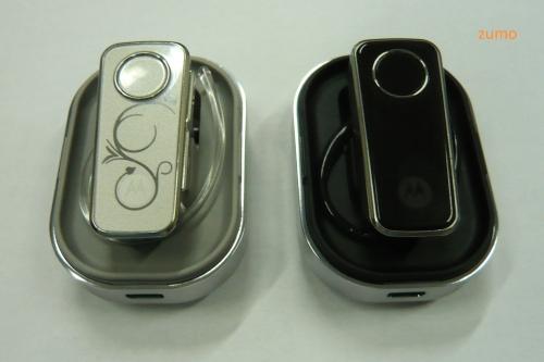 Fones Motorola H680: em branco ou preto