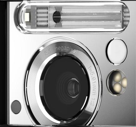Detalhe da lente do Sony Ericsson C905