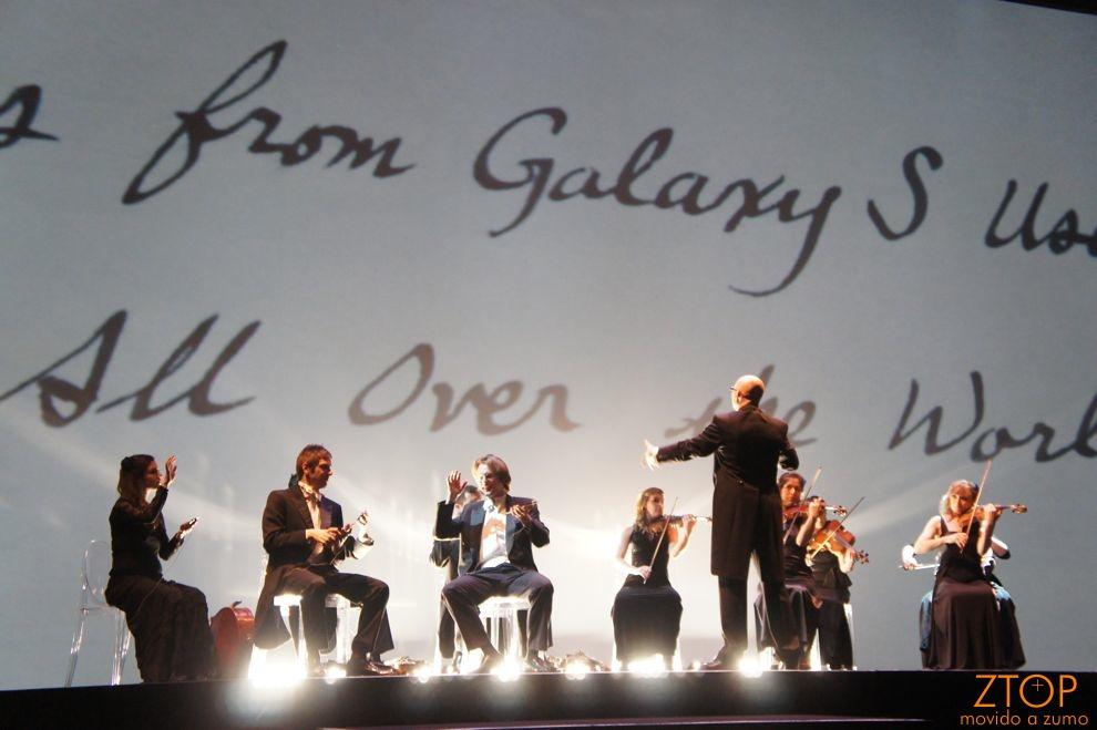 A orquestra: instrumentos versus gadgets