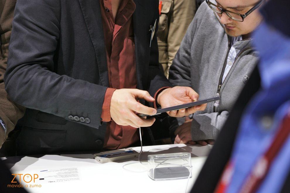 Samsung Galaxy Tab 10.1 visto... de longe
