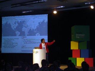 A palestra sobre o Google Maps foi bastante concorrida