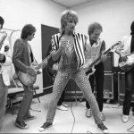 With Rod and the boys 1984