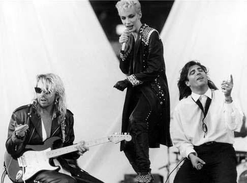 With Dave & Annie- Stockholm, 1987