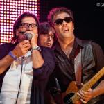 With  ZTribe's Mario Monterosso & Patrizio Sacco, Sigulda Blues, Latvia - 2013 - courtesy Iveta Sebrina