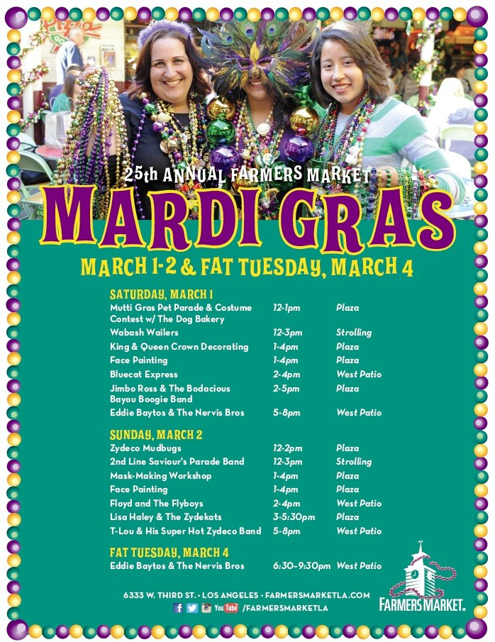 25th Annual Farmers Market Mardi Gras