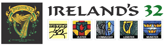 ireland's 32 logo