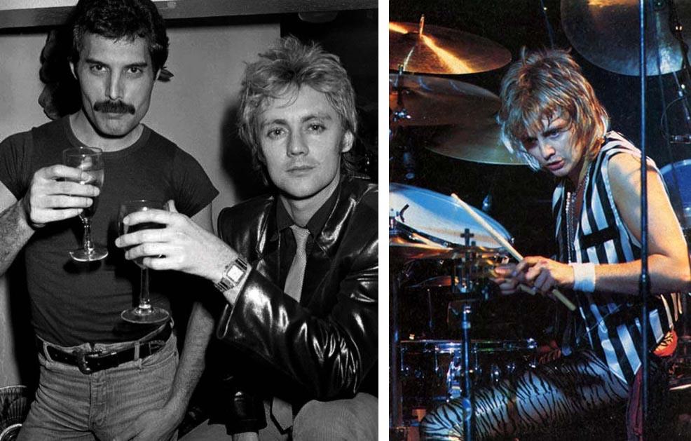 Freddy Mercury & Roger Taylor