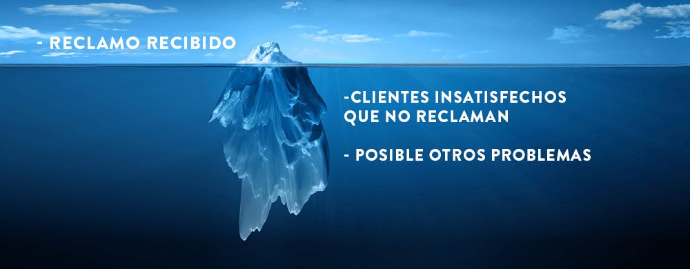 Como responder a las quejas o reclamos punta del iceberg