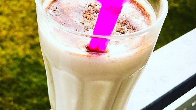 Bananen Kaffee Milchshake