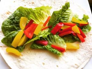 Wrap mit Salat