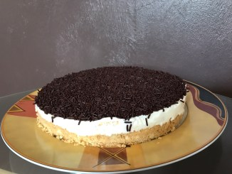 No Bake Pfirsich Quark Tortencreme