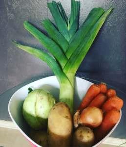 Zutaten Gemüse Eintopf mit Fleischbällchen