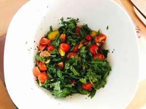 Zutaten Nudelsalat mit Balsamico Dressing