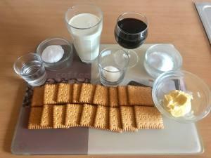 Zutaten No Bake Rotwein Schmand Torte