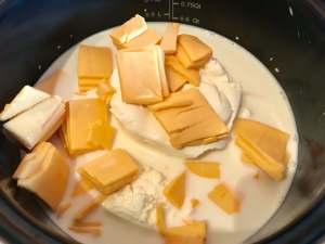 Zubereitung schnelle Käse Soße