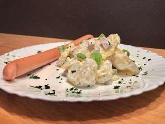 Pellkartoffelsalat mit Joghurt