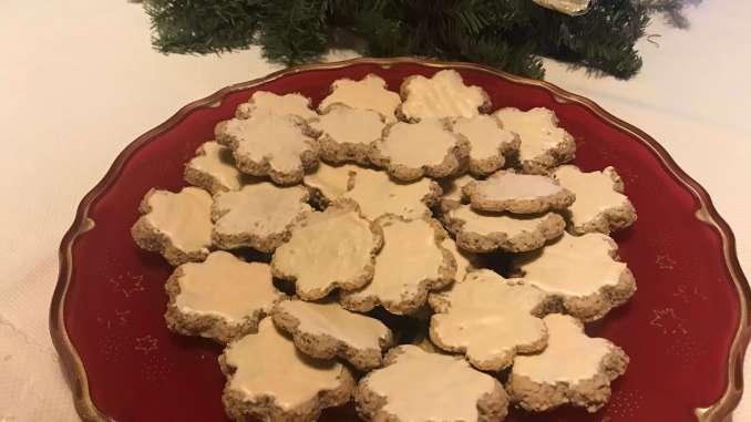 Mandel Haselnuss Zimt Kekse