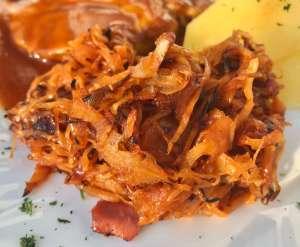 BBQ Sauerkraut Grill Beilage