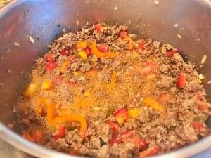 Chili Con Carne mit Schokolade Zubereitung