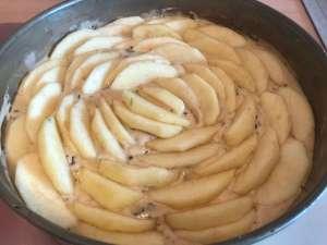 Marzipan Apfel Kuchen Zubereitung
