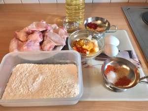 Fried Chicken Wings mit Knoblauch Joghurt Dip Zutaten