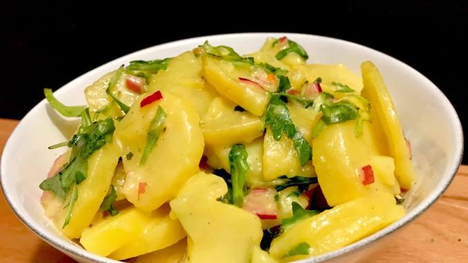 Kartoffelsalat mit Rucola