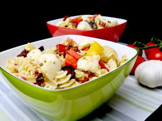 Nudelsalat nach italienischer Art